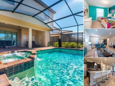 Photo for Amazing Pool Home With Spa at Windsor @ Westside Resort - Themed Kid's Rooms & Game Room