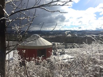 Photo for Yurt Rental On 80 Private Acres