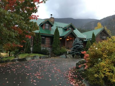 Photo for Just listed. This Pemberton Log home has it all!
