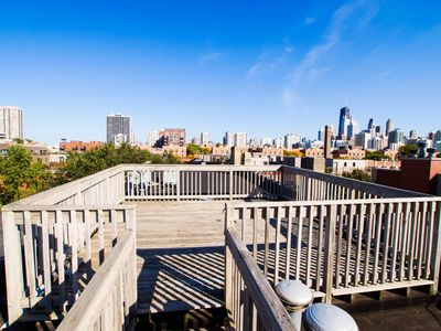 Photo for The Downtown Chicago Loft with City View Roof Deck - Perfect for Large Groups!