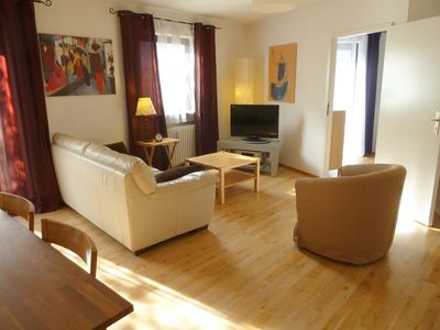 Photo for Very nice and bright, central, metro around the corner, free internet, 4mn from the main station.