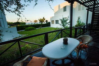 Private terrace with sea views