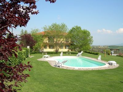 Photo for Tourist Complex with garden, 3 km from the lake
