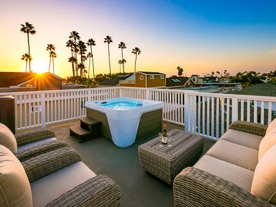 Photo for Beautiful Newport Beach Home w/ Rooftop Spa,Views+Walk to All