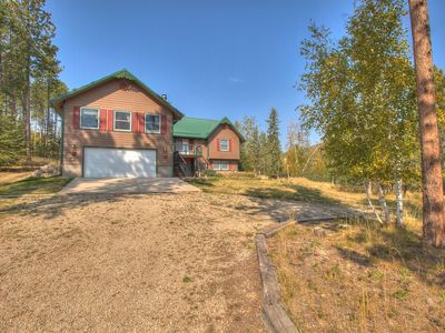 Photo for H-Hills Cabin with Hot Tub, Garage Access & Close to Black Hills Attraction