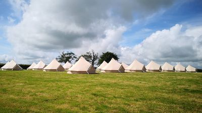 Photo for Luxury Bell Tent Sleeps 2 to 4 people