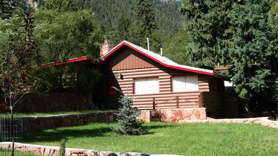 Photo for Historic Log cabin in Green Mountain Falls
