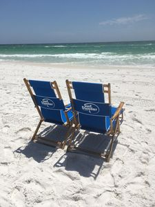 Beach service is included in your rental from March 1st through October 31st.