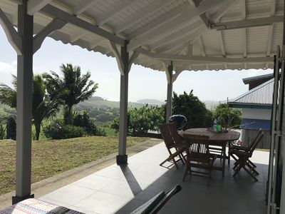 Photo for Villa with breathtaking views of Galion Bay and the peninsula of Caravelle
