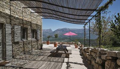 Photo for 5BR House Vacation Rental in BOURDEAUX, Auvergne-Rhône-Alpes