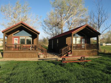 Cozy Cottages in the foothills of the the Big Horn Mountains in Wyoming!