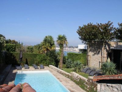 Photo for In Ciboure / St Jean de Luz, architect designed house, 5 bedrooms, secured pool