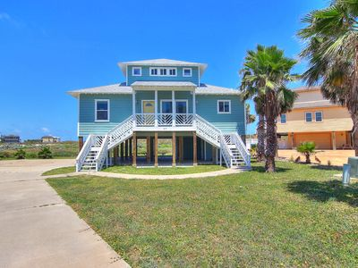 Photo for Fabulous beachfront home! 4 bedroom 3 bath home with ocean views!