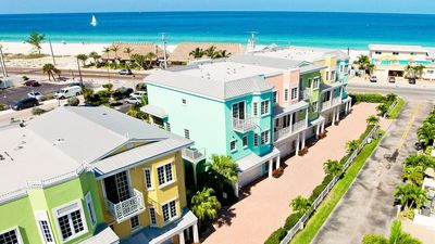Photo for 111 Unique Townhome with views of the Gulf and Bay...Steps to the Beach!