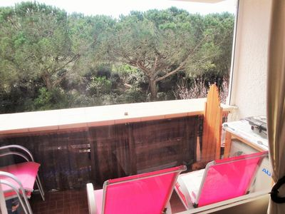 Photo for In Sablettes, front of beach, balcony, barbecue, Air conditioning