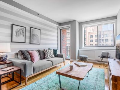 Photo for Modern Chelsea 1BR w/ Balcony, Doorman + Gym by Blueground