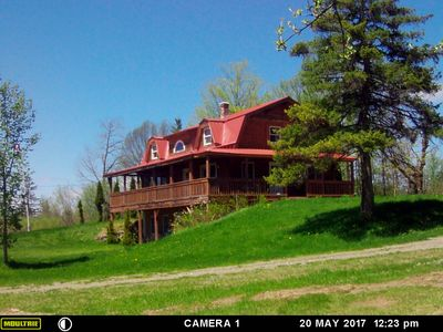 Photo for Hersey/Mount Chase Log Home