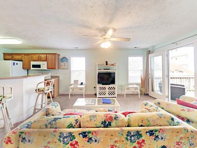 Photo for Ocean Views in the Heart of Carolina Beach, Large 3BR
