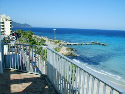 Photo for APP. VIVES 4-B: Penthouse apartment directly on the beach, fantastic sea views