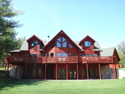 Photo for Grand Meadows Lodge, Stunning Views, Near Whiteface & Lake Placid, 3D/VR Tour