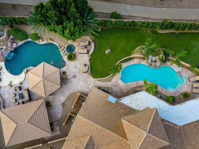 Photo for 2 POOLS! SEPERATE GUEST HOUSE, MINI GOLF, SPA, 6 BR, 5 BTH, HUGE LUXURY MANSION!