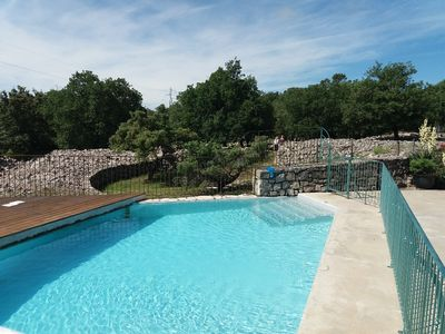 Photo for BEAUTIFUL HOUSE OF CHARACTER 4 **** from 2 to 9 Persons HEATED private pool