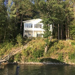 House from the lake