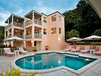 Photo for 1 FREE NIGHT, Private 5 bedroom House, Walk To Smugglers Cove, Pool, AC