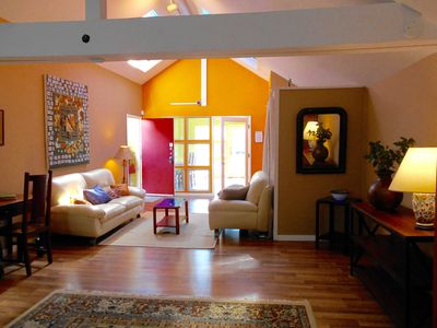 Photo for Sunny loft in Berkeley quiet area near 4th street, restaurants, cafes and shops.