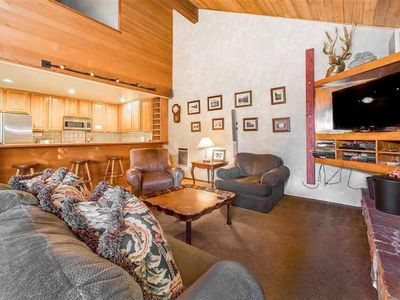 Photo for Large Ski Condo, close to Gondola and Village with Spa and Wifi