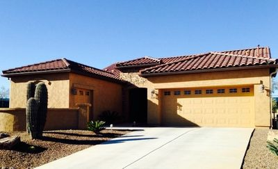 Photo for Wonderful Saddlebrooke Sola...located within walking distance of Desertview!