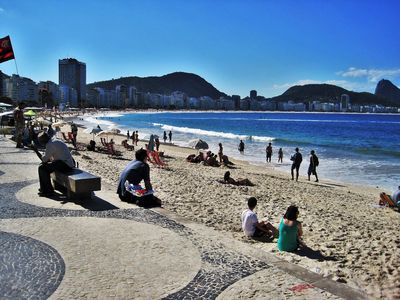 Photo for Apartment Conjugated, high floor, 2 blocks from Copacabana Beach !!