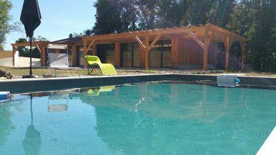 Photo for Sarlat Gite holiday house with pool on 6000 m2 of land