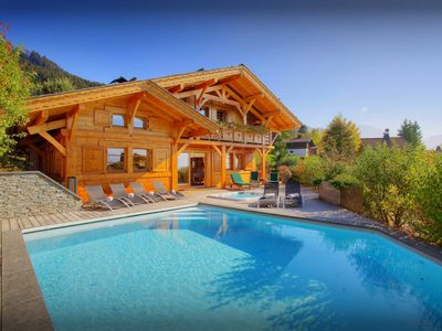 Photo for Gym, hot tub and heated pool at this 5* luxury ski chalet - OVO Network