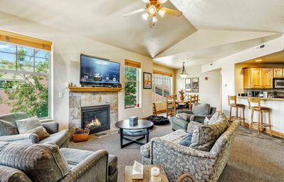 Photo for Bright 3BR w/ BBQ, Steps to Redstone Village, Free Bus to Skiing & Park  City