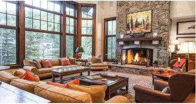 Great Room with Gas Fireplace