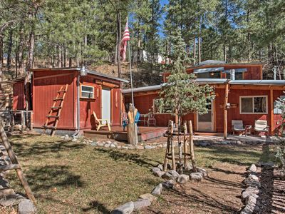 Photo for 'Black Bear Canyon' Ruidoso Home w/ Bunkhouse!