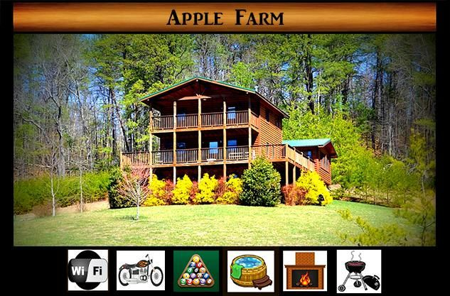 Apple Farm} Private \ Pool Table \ Hot Tub \ Fire Place \ Country Feel