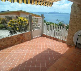 Photo for Homerez last minute deal - Nice apt with sea view and terrace