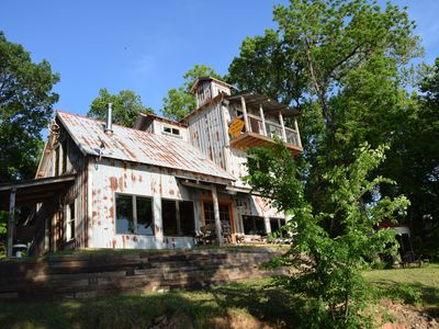 Charmant Photo For 3BR Cabin Vacation Rental In Colbert, Oklahoma