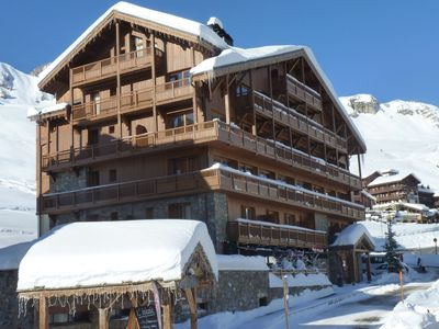 Photo for Cozy apartment, at just 300 m. from the slopes in Tignes
