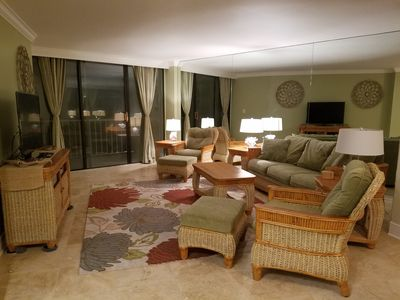 Photo for Beach Front And Sunset Views, 16th Floor Totally Renovated, 2 Br, 2Ba, Sleeps 6
