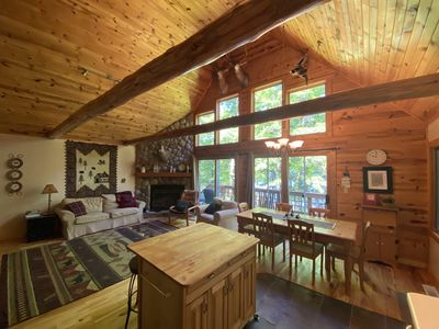 Photo for Secluded, Peaceful Lakefront Chalet Nestled In The Heart Of The Northwoods