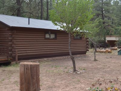 Photo for Streamfront Cabin The High Pines 2BR, 1BA