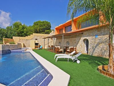 Photo for Calpe Villa, Sleeps 10 with Pool, Air Con and WiFi