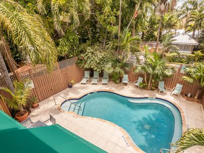 Photo for Cozy ground-floor suite in historic home w/ shared pool - close to boardwalk!