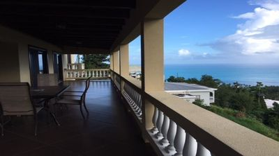 Photo for Quiet Luxury villa Azalea with incredible ocean view! On the Lush North side