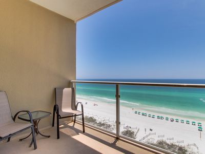 Photo for Family-friendly condo w/ beach & pool view - access to shared pool spa & gym!