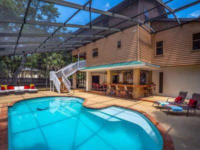 Photo for 7717 27th Ave W-Chili Cove- Private Pool home- 4 Bedroom/ 2.5 Bath , maximum occupancy of 10 people. Your Home Away from Home!