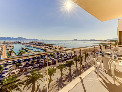 Photo for Penthouse with spectacular views in Port Pollensa